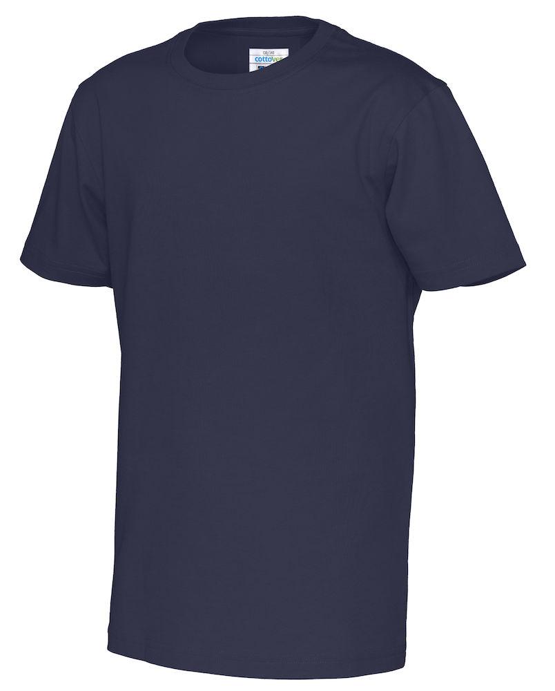 T-Shirt Cottover Kid marin