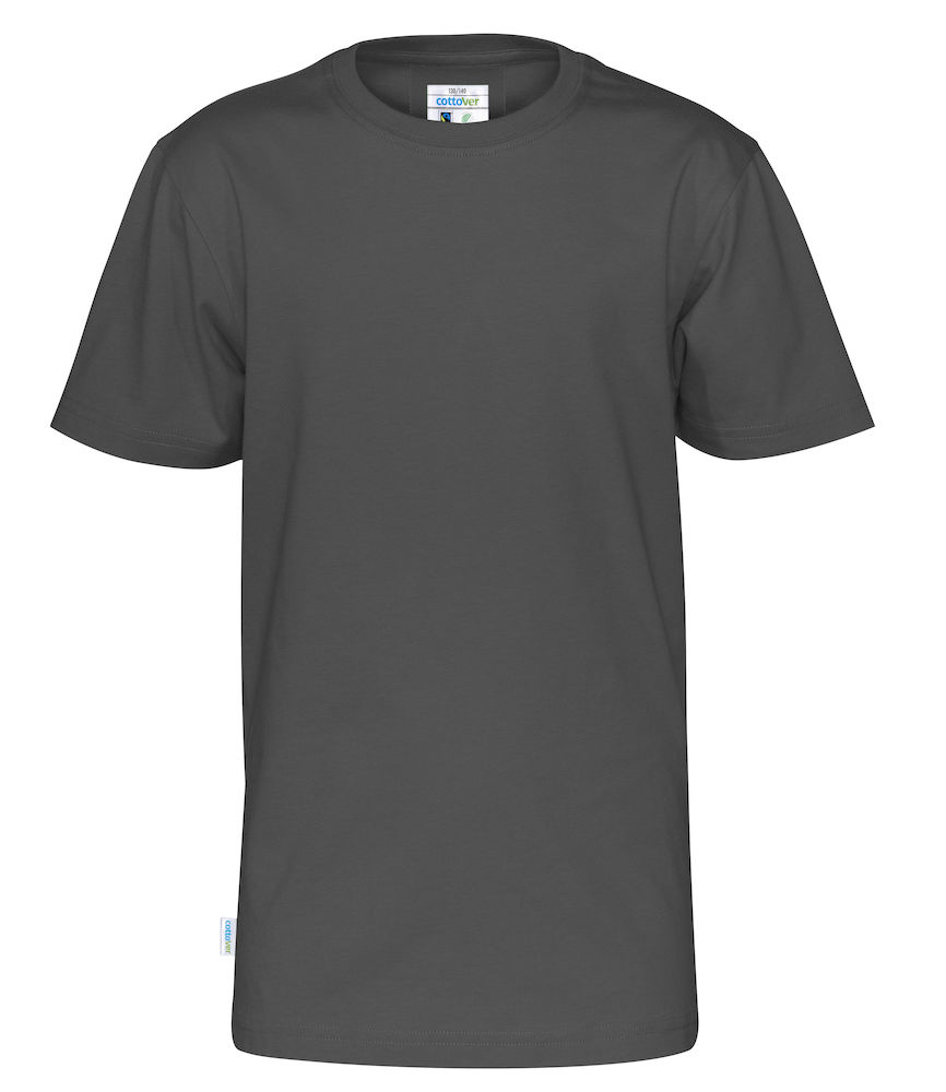 T-Shirt Cottover Kid Charcoal
