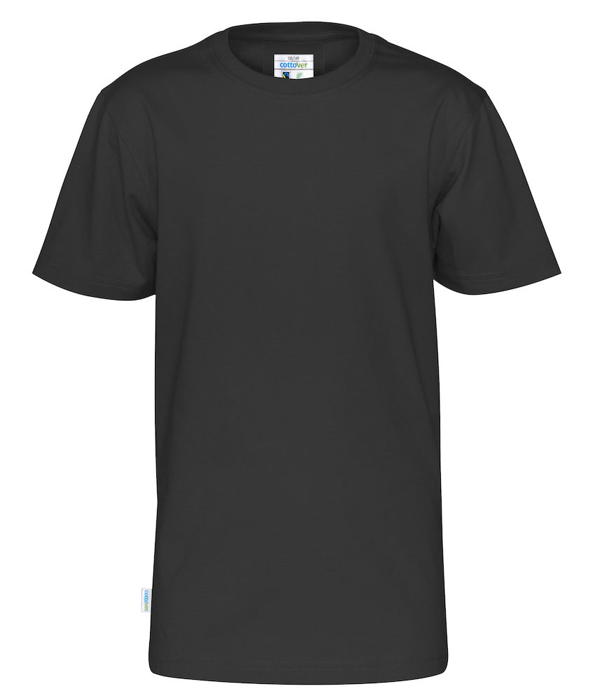 T-Shirt Cottover Kid svart