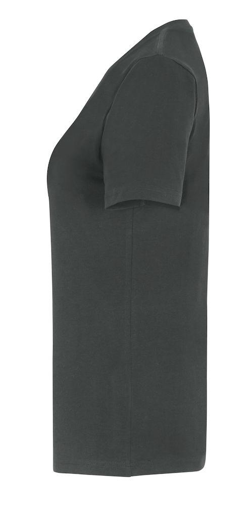 T-Shirt Stretch Dam Charcoal