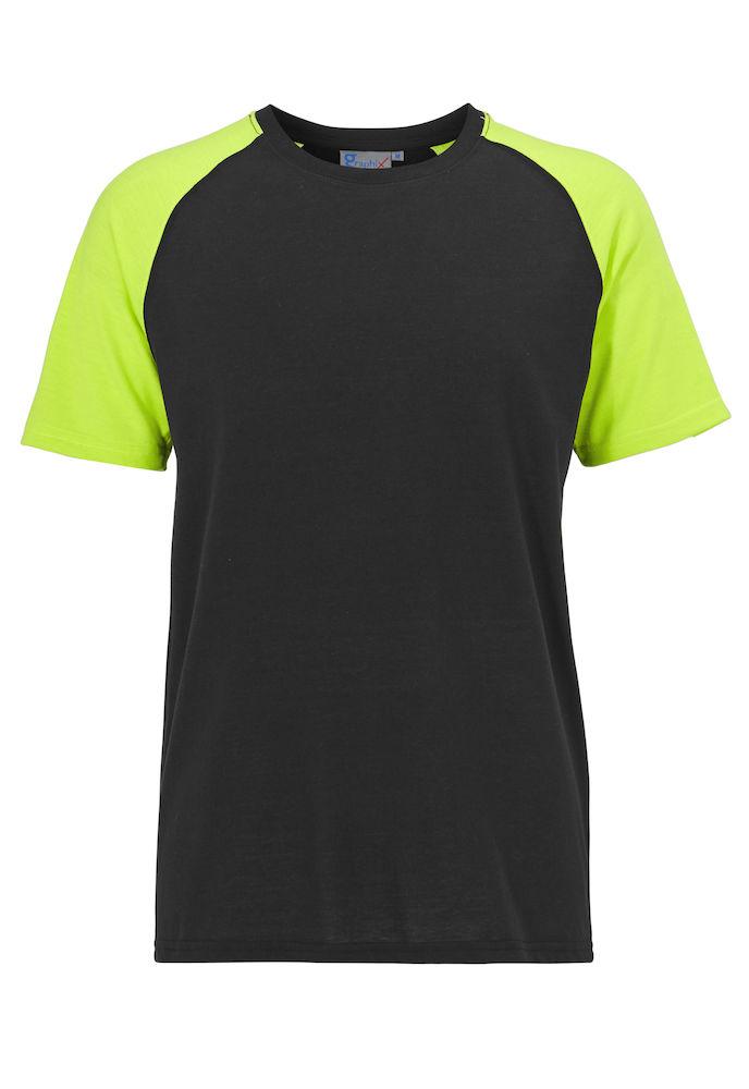 Monza T-shirt Svart/gul