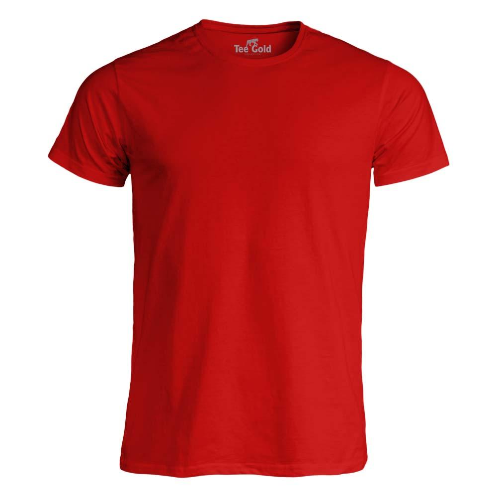 Tee Gold T-shirt 170g Röd