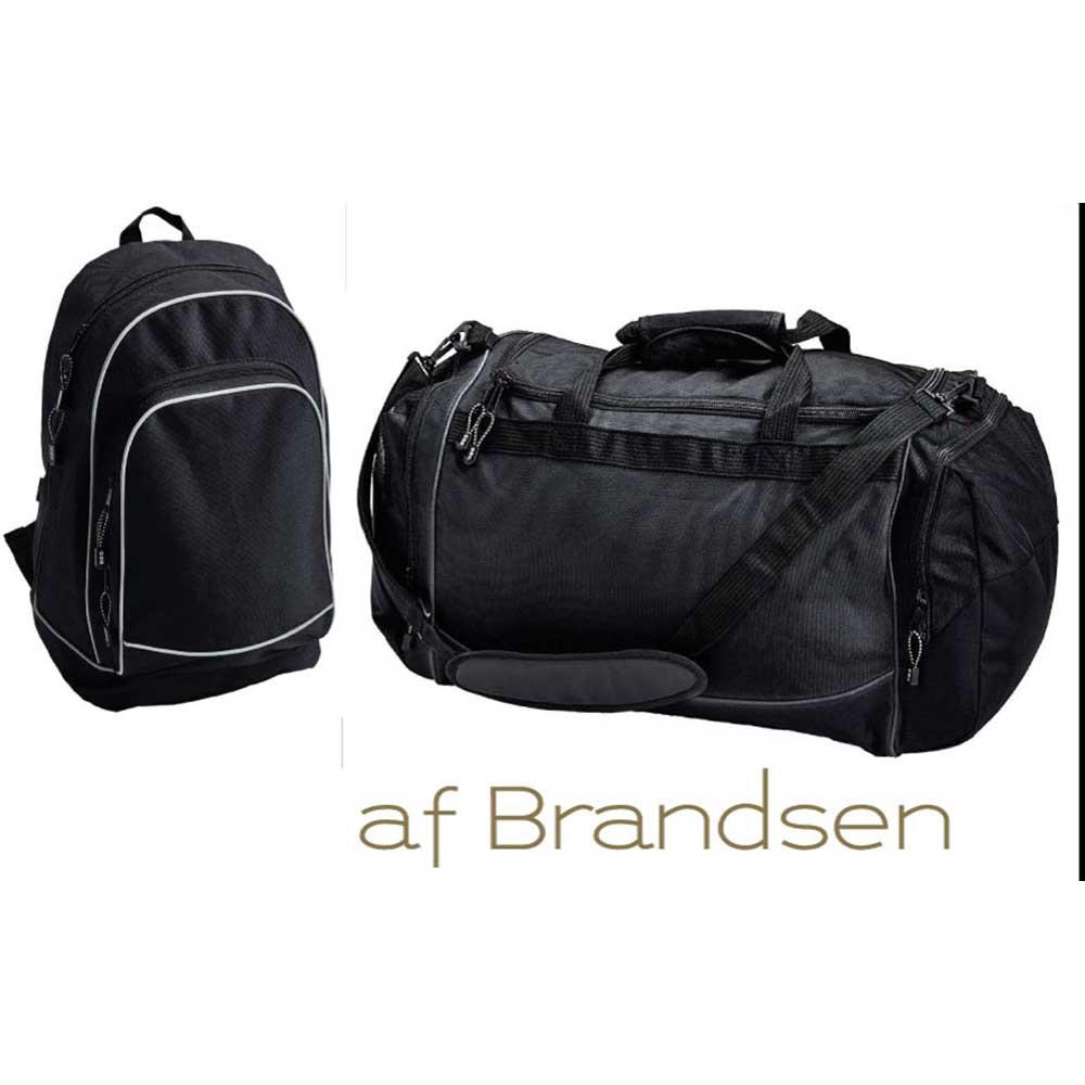 Ryggsäck och sportbag i presentkartong