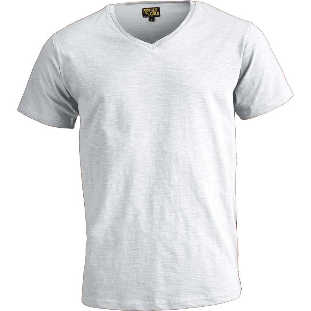 V-ringad T-Shirt Verona Vit