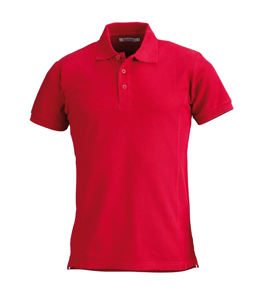 Men´s Piké Wimbledon Röd