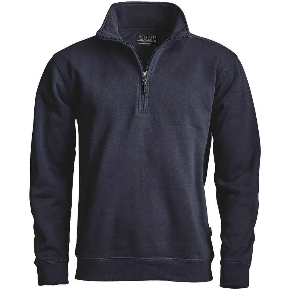 North Pro Zip sweatshirt  Marin