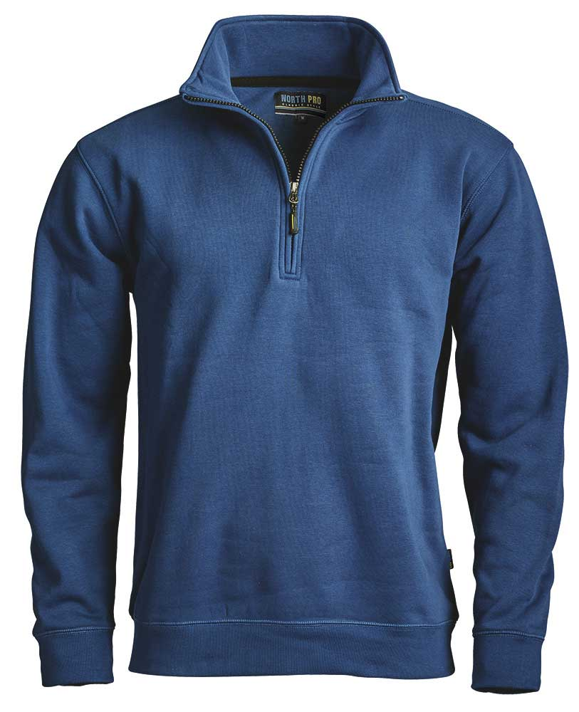 North Pro Zip sweatshirt  Dark blue