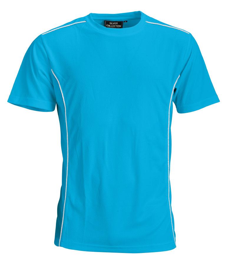 Funktions T-Shirt Oceanblå