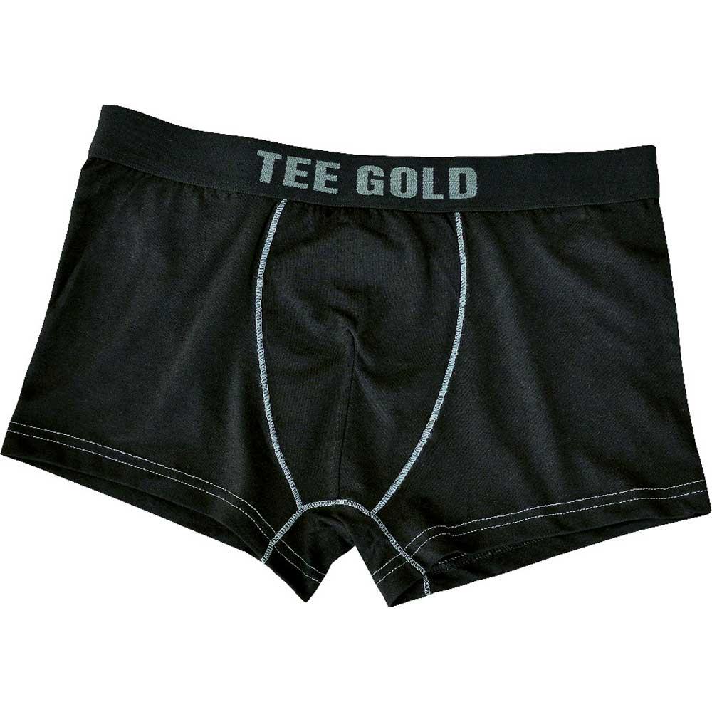Boxershorts Tee Gold Svart