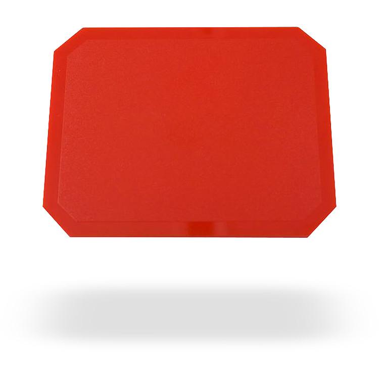 Isskrapa Gjuten Röd